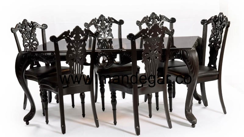 Mandegar Dining and plastic furniture (1)
